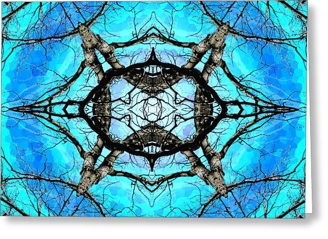 Elemental Force Greeting Card by Shawna Rowe