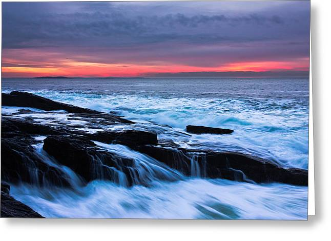 Harpswell Greeting Cards - Elements Greeting Card by Benjamin Williamson