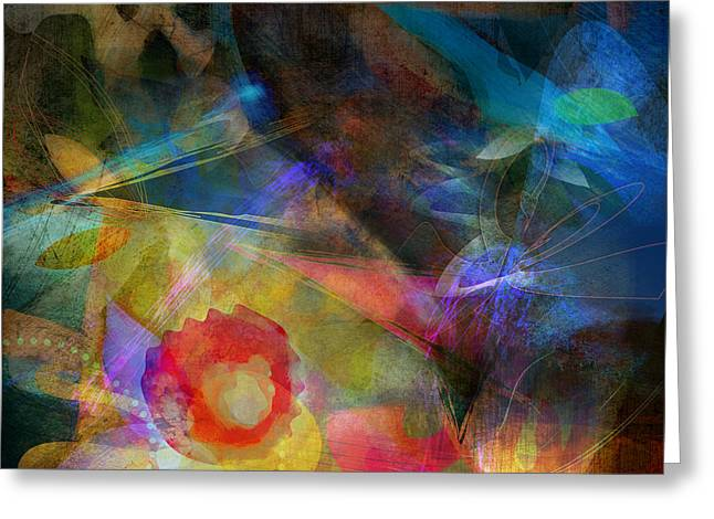 Elements II - Emergence Greeting Card by Bryan Dechter