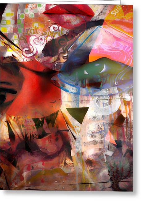 Jerry Cordeiro Greeting Cards - Elements Of Estrogen  Greeting Card by Jerry Cordeiro