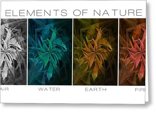 Element Of Light Greeting Cards - Elements Of Nature Greeting Card by Marianna Mills