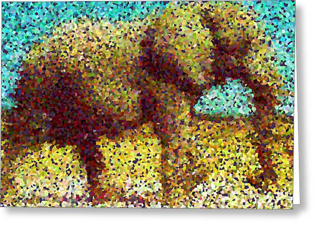 Beauty Greeting Cards - Elephant 1 Greeting Card by Lanjee Chee