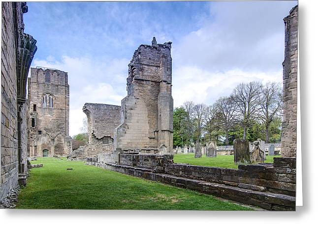 Elgin Cathedral Community - 19 Greeting Card by Paul Cannon