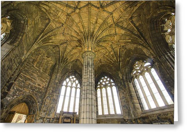 Historical Images Greeting Cards - Elgin Cathedral Community - 20 Greeting Card by Paul Cannon