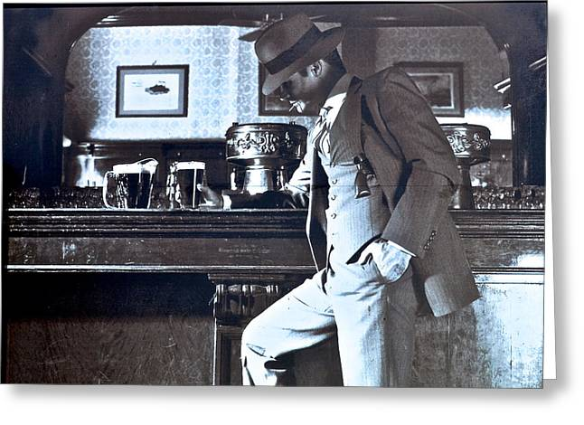 Undercover Greeting Cards - Eliot Ness Greeting Card by Frozen in Time Fine Art Photography