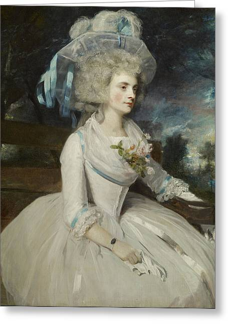 Warwick Paintings Greeting Cards - Elizabeth Countess of Warwick Greeting Card by Mountain Dreams