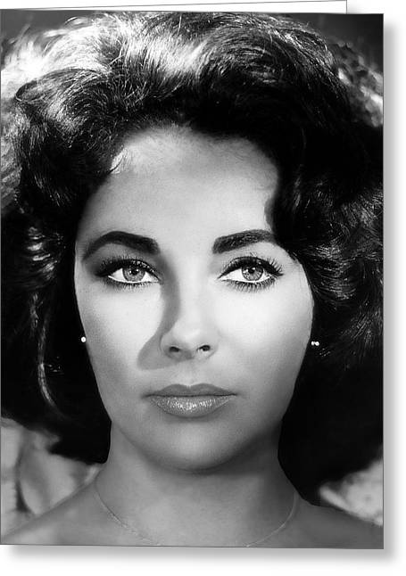 Classic Hollywood Photographs Greeting Cards - Elizabeth Greeting Card by Daniel Hagerman