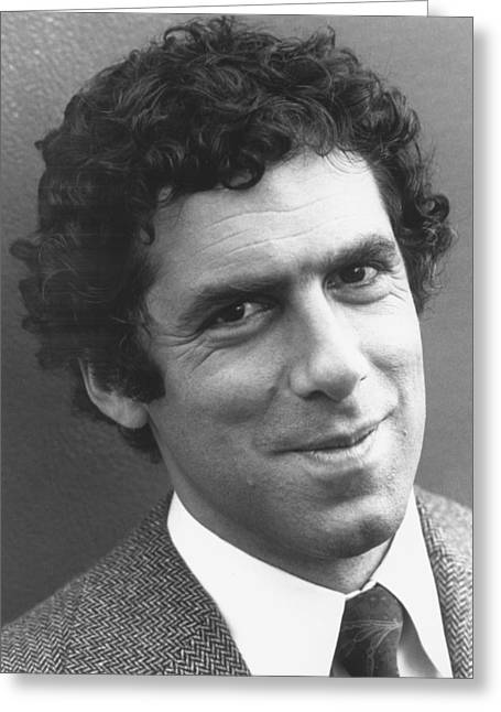 Gould Greeting Cards - Elliott Gould Greeting Card by Silver Screen