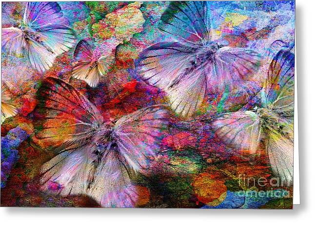 Vlinder Greeting Cards - Elusive Dreams Greeting Card by Photodream Art