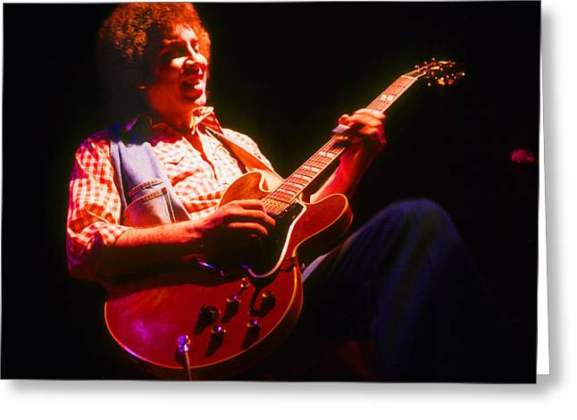 Elvin Greeting Cards - Elvin Bishop Two Greeting Card by Michael Mastro
