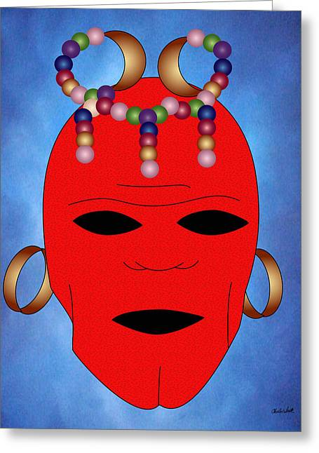 Beat It Digital Art Greeting Cards - Elvin Greeting Card by Charles Smith