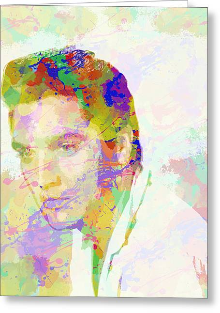 Heartbreak Hotel Greeting Cards - Elvis presley - 3 Greeting Card by Chris Smith