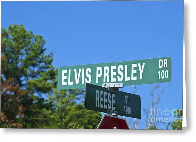 Tupelo Greeting Cards - Elvis Presley Drive, Ms Greeting Card by Bill Bachmann