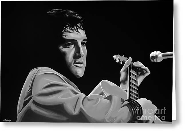Elvis Presley Greeting Card by Meijering Manupix