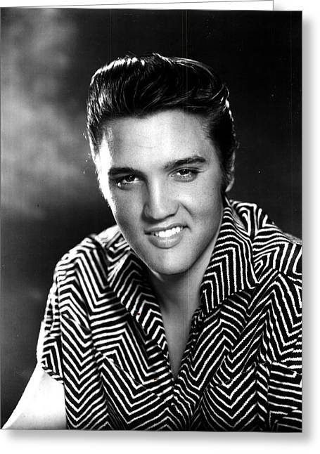 Elvis Icon Greeting Cards - Elvis Presley Greeting Card by Nomad Art And  Design