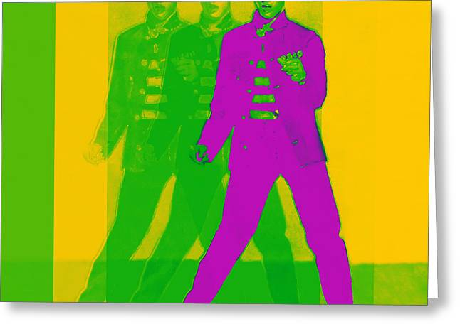 Elvis Three 20130215 Greeting Card by Wingsdomain Art and Photography