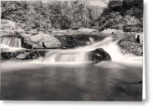 Water Flowing Greeting Cards - Embracing The Flow Greeting Card by Edward Kreis
