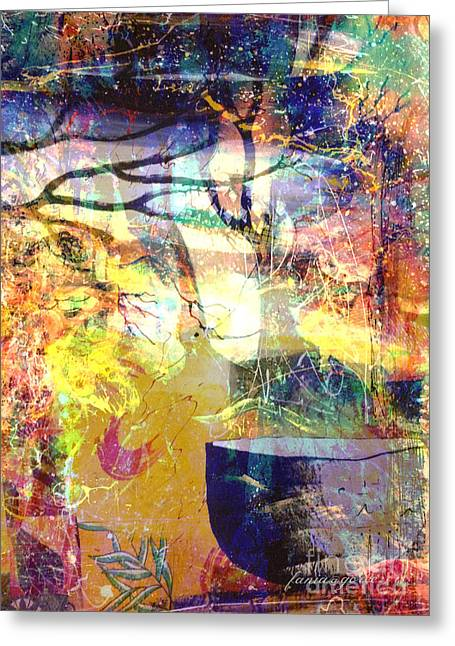 Mentality Greeting Cards - Embuscade PLOT Greeting Card by Fania Simon