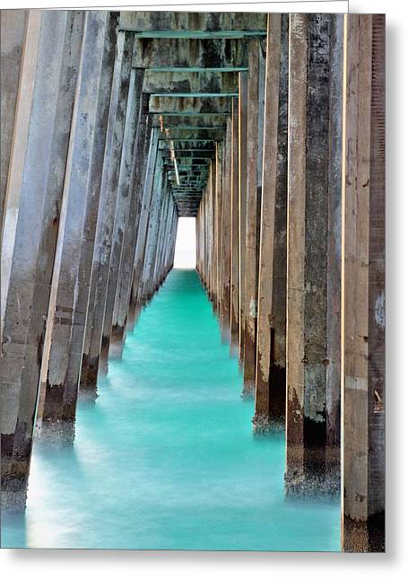 Florida Panhandle Greeting Cards - Emerald Coast Waters Greeting Card by JC Findley