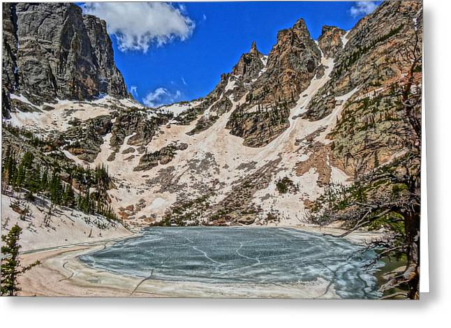 Rocky In Spring Greeting Cards - Emerald Lake In Rocky Mountain National Park Greeting Card by Dan Sproul