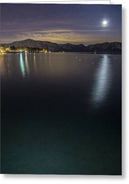 Emerald Waters Greeting Card by Brad Scott