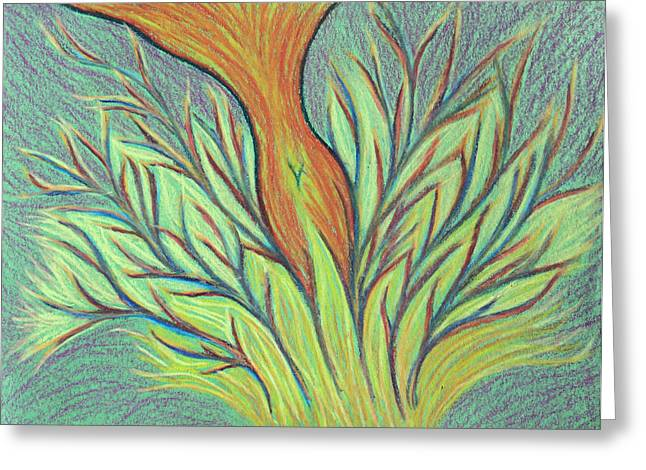 Transformations Pastels Greeting Cards - Emerging Woman Greeting Card by Jamie Rogers