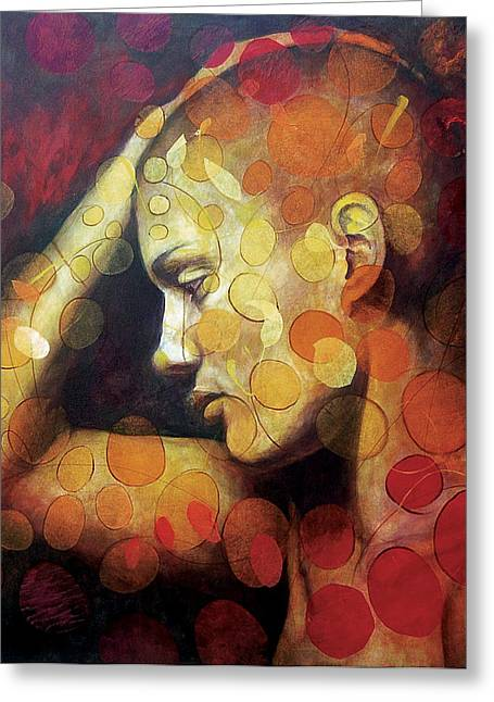 Innocence Greeting Cards - Emotions Greeting Card by Karina Llergo Salto