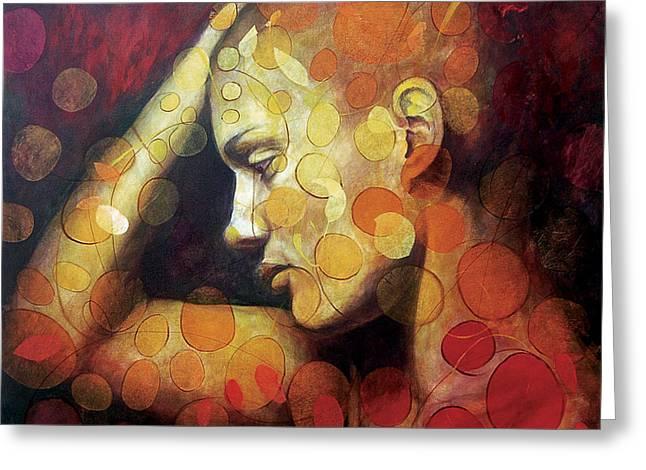 Emotions Greeting Card by Karina Llergo Salto
