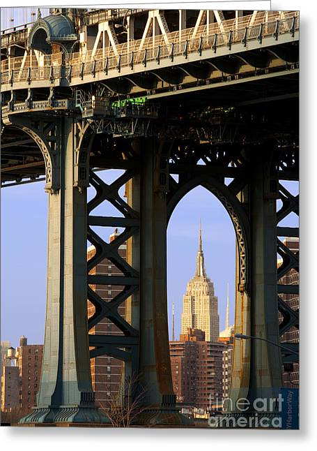 Midtown Greeting Cards - Empire State Building Greeting Card by Brian Jannsen