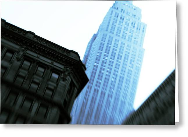 Empire State Building Greeting Card by Dave Bowman