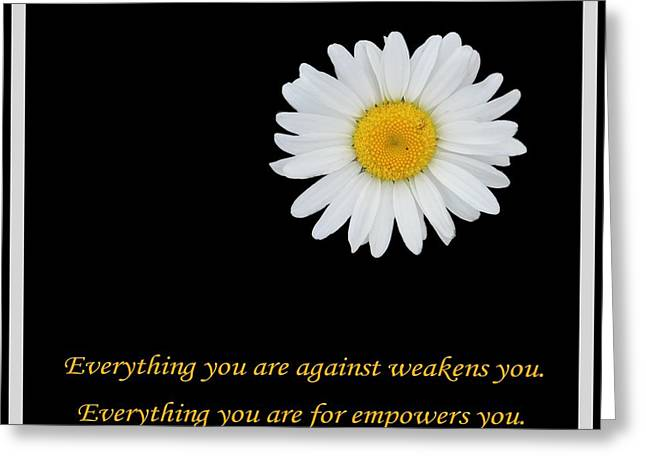 Empowerment Greeting Cards - Empowerment Greeting Card by Barbara Griffin