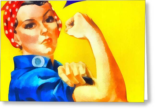Empowerment Greeting Card by Dan Sproul
