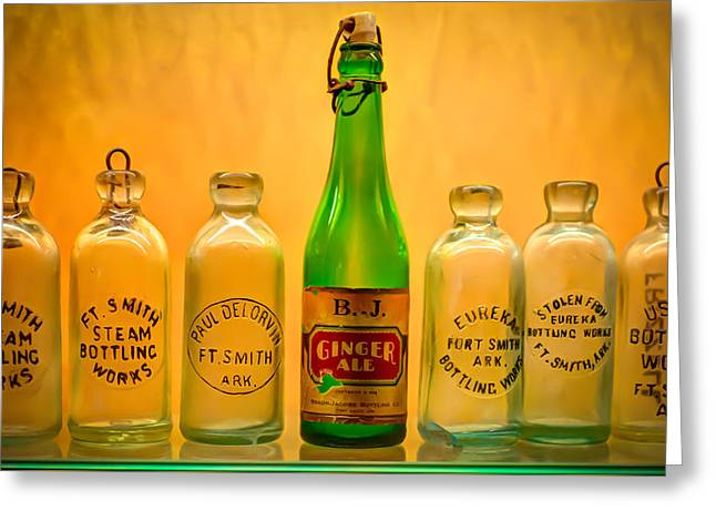 Empties Greeting Card by James Barber
