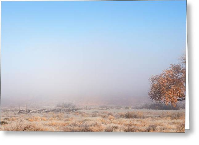Cards Framed Prints Greeting Cards - Emptiness of Moab Greeting Card by Darren  White