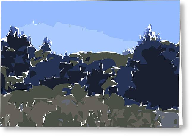 Santa Cruz Ca Greeting Cards - Empty Meadow Greeting Card by Nolan Schoichet