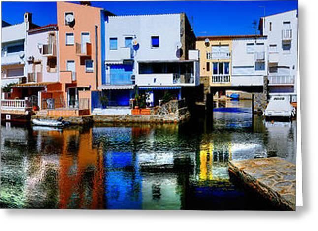 Empuriabrava Spain Greeting Card by Isaac Silman