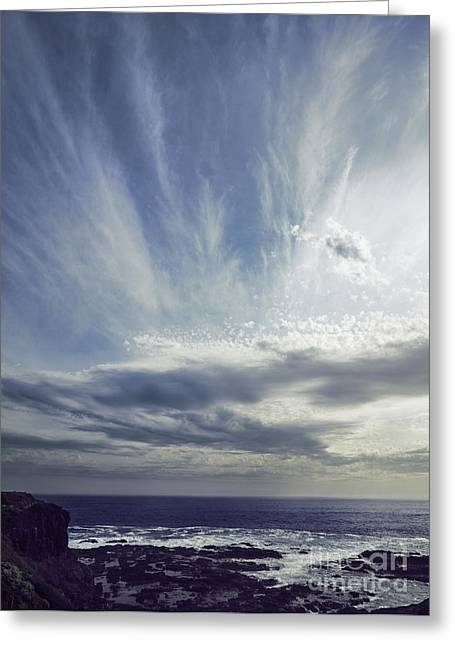 Skyscape Greeting Cards - Empyrean Greeting Card by Andrew Paranavitana