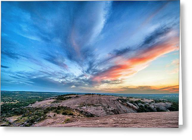 Climbing Digital Greeting Cards - Enchanted Rock Greeting Card by Pair of Spades
