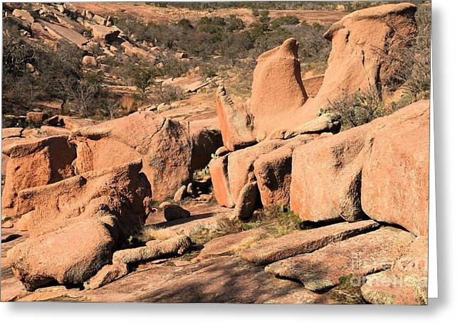 Texas Parks Greeting Cards - Enchanted Rocks Greeting Card by Adam Jewell