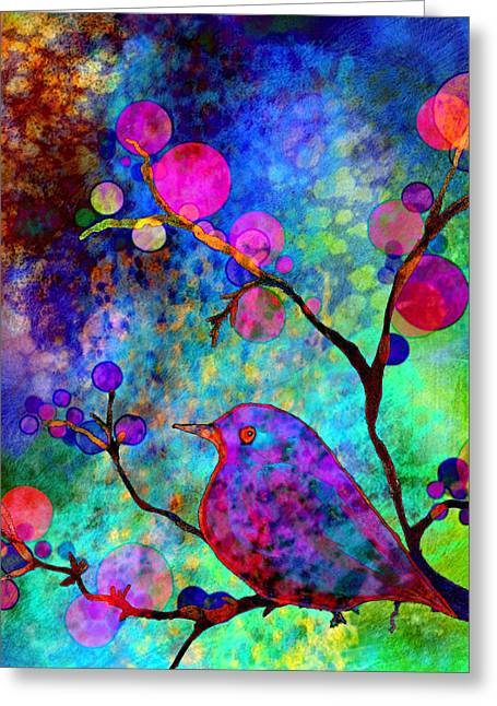 Enchantment Greeting Card by Robin Mead