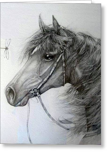 Jenny Pride Greeting Cards - Encounter Greeting Card by Jenny Pride