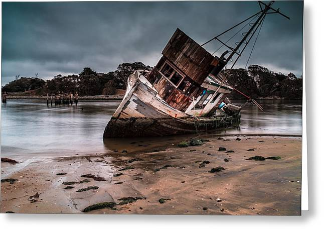 Scuttle Greeting Cards - End of Days Greeting Card by Thomas Hall Photography
