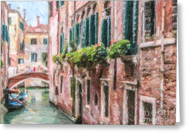 Venezia Greeting Cards - End of shift Greeting Card by Liz Leyden