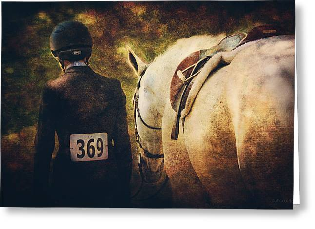 Shadow Horse Studios Greeting Cards - End Of The Day Greeting Card by Lyndsey Warren