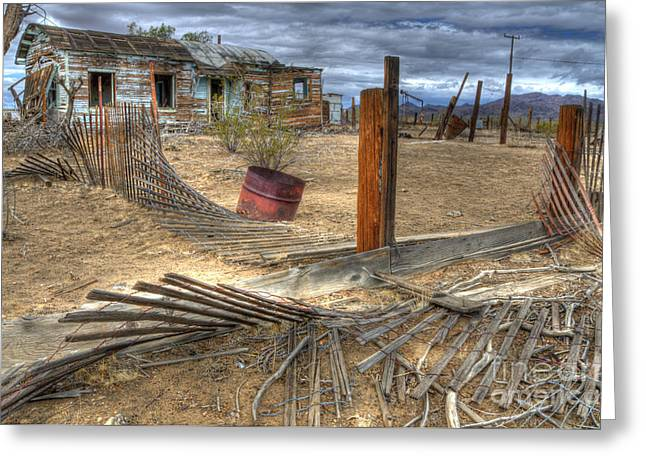 Canadian Photographer Greeting Cards - End Of The Dream 2 Greeting Card by Bob Christopher