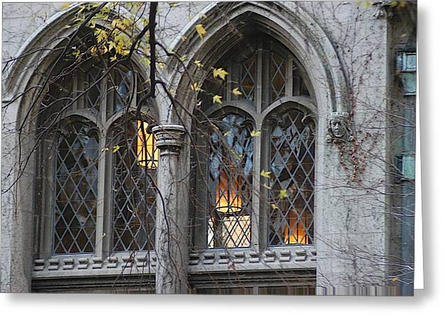 Magnificent Mile Greeting Cards - End of the Mile Greeting Card by Joseph Yarbrough