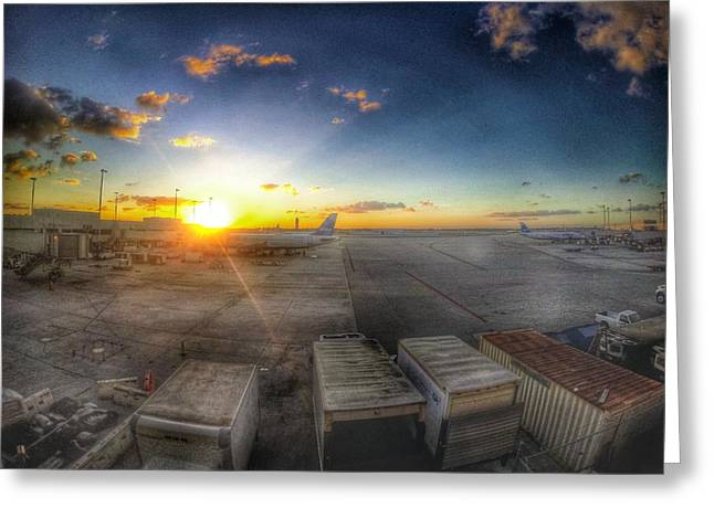 Go Pro Greeting Cards - End of Vacation Greeting Card by Erik Kaplan