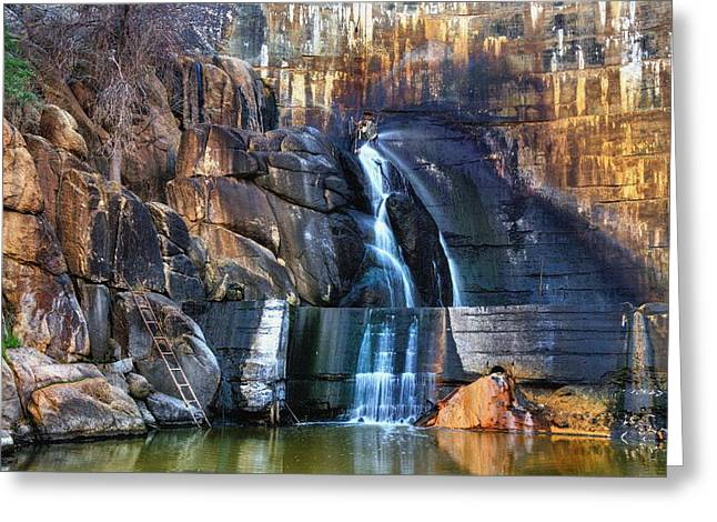 Prescott Greeting Cards - End of the Trail. Greeting Card by Thomas  Todd