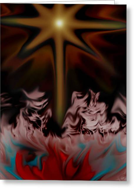 King James Version Greeting Cards - End Times Greeting Card by Nina Fosdick