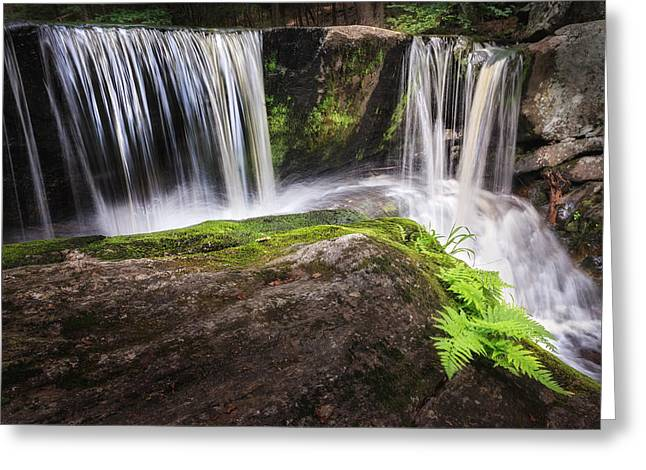 Enders Falls 3 Greeting Card by Bill Wakeley